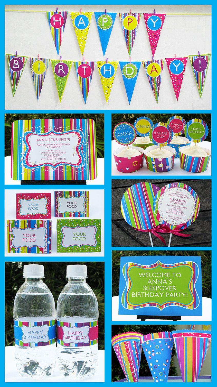 Unique Candy Birthday Party Invitations Gallery - Invitations ...