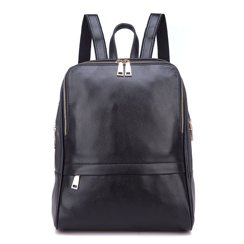 New Rucksack Genuine Leather Women Shoulder Bag Satchel Backpack Travel Knapsack