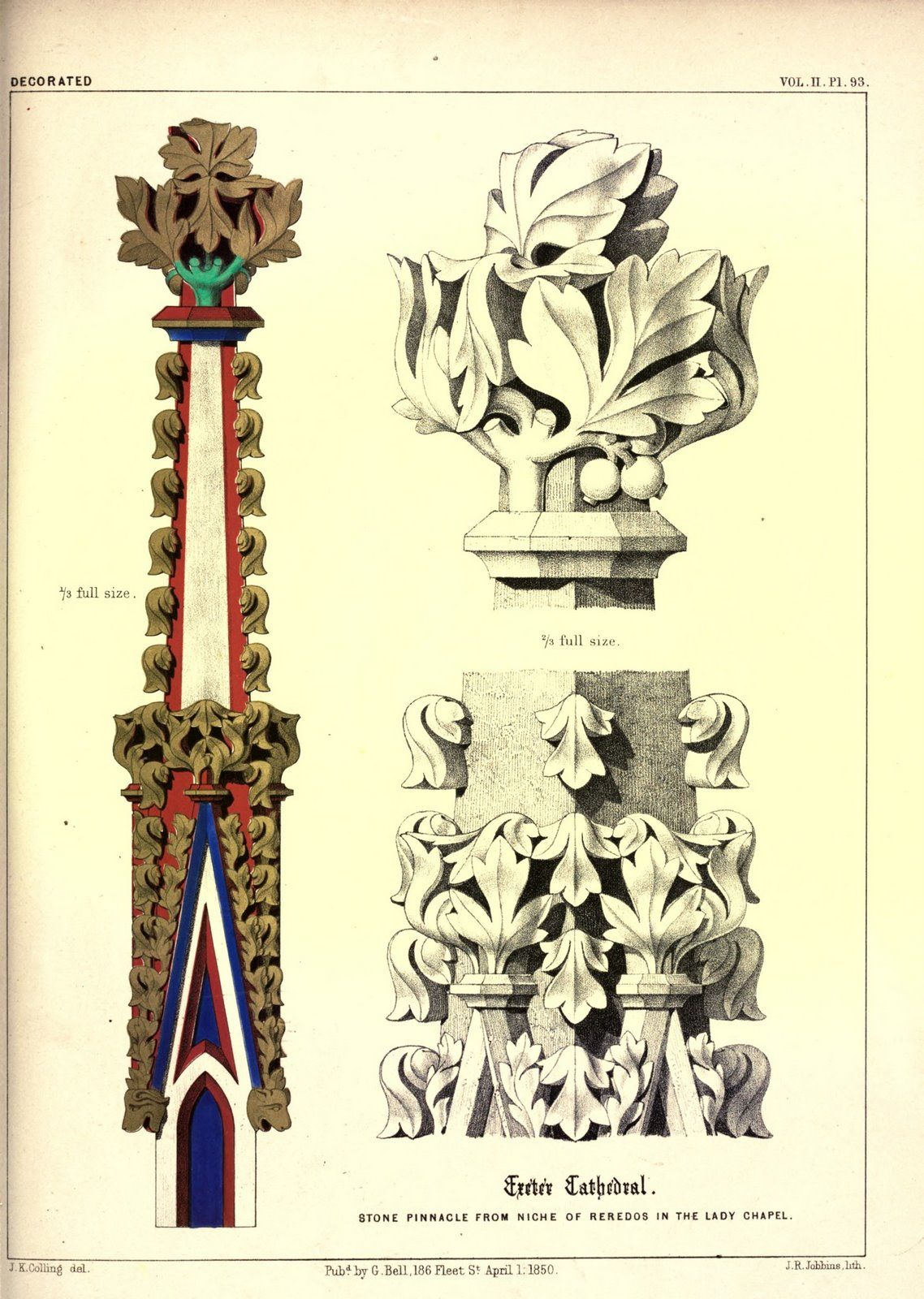 James Kellaway Colling Plates From Colling S Gothic Ornament 1847 Gothic Architectural Ornaments Gothic Architecture Architecture Drawing Medieval Art