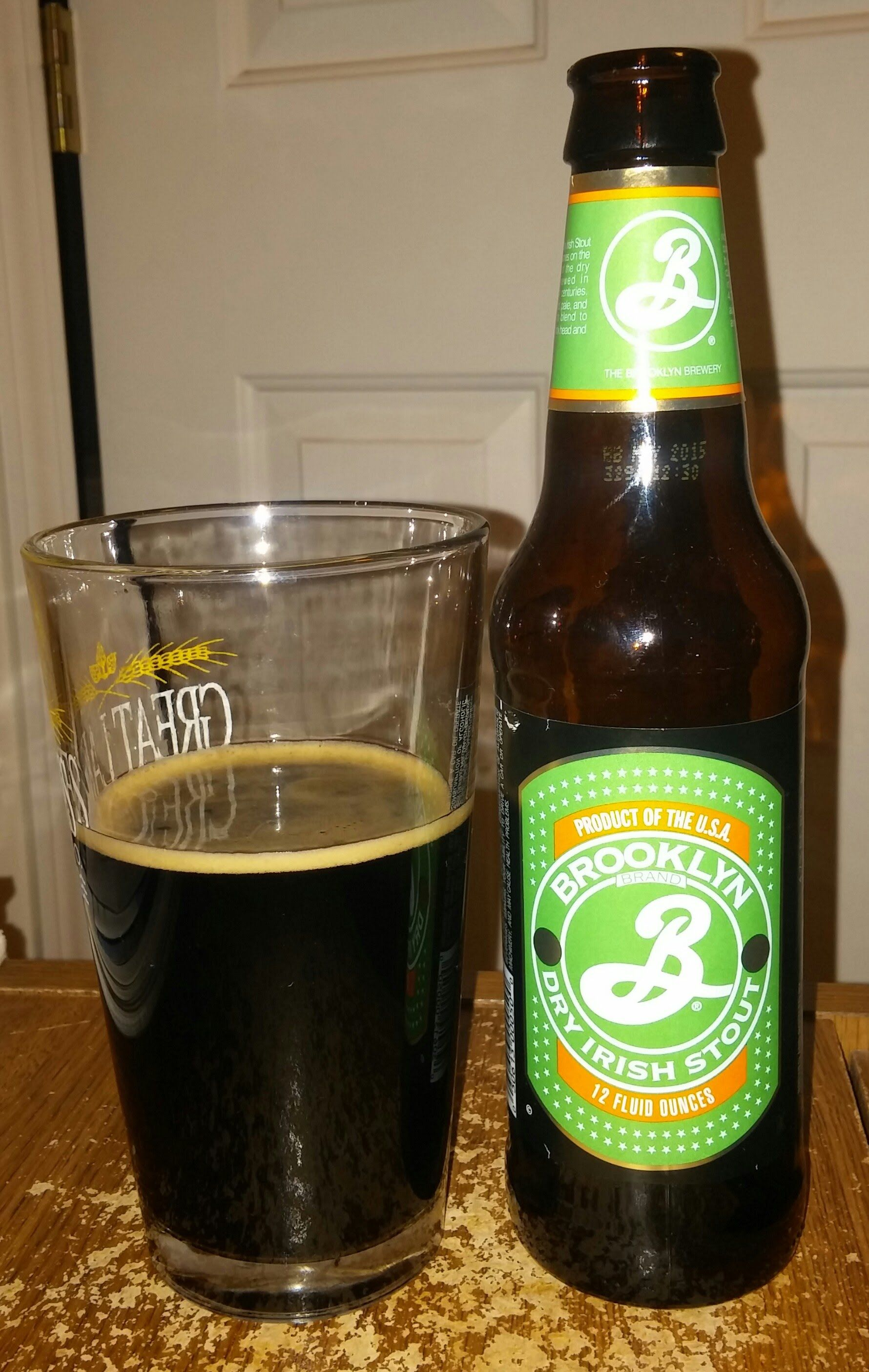 Beer review brooklyn dry irish stout 47 stout