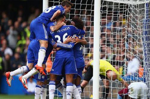«Челси» – «Астон Вилла» 2:0. Синие настроились на Киев (+видео)