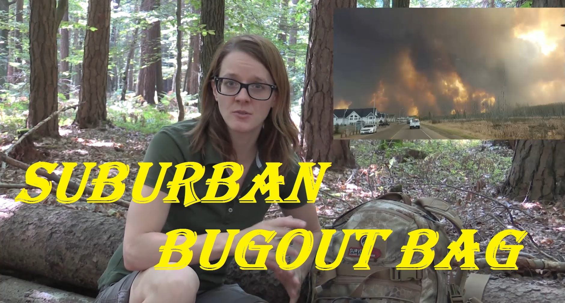 tactical bug out bag suburban areas survival lilly youtube