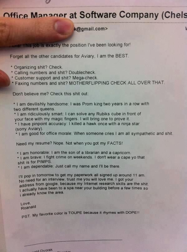 22 People Who Definitely Didnu0027t Get The Job Customer service and - walmart resume paper