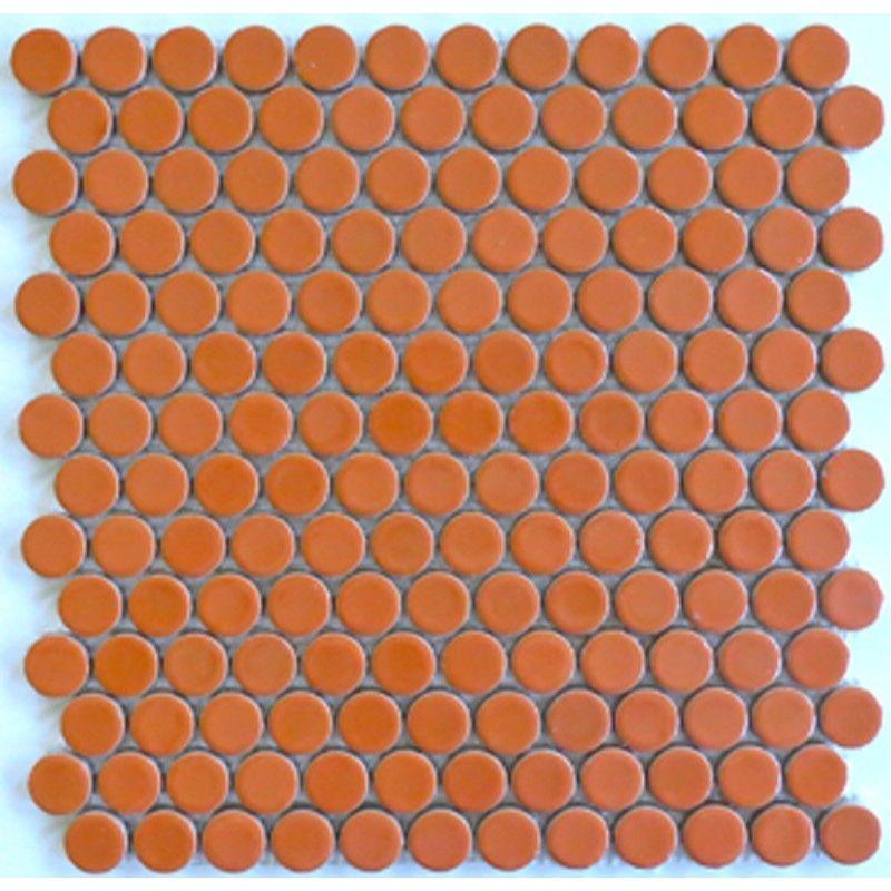 ModDotz Sherbet Porcelain Tile Penny Rounds