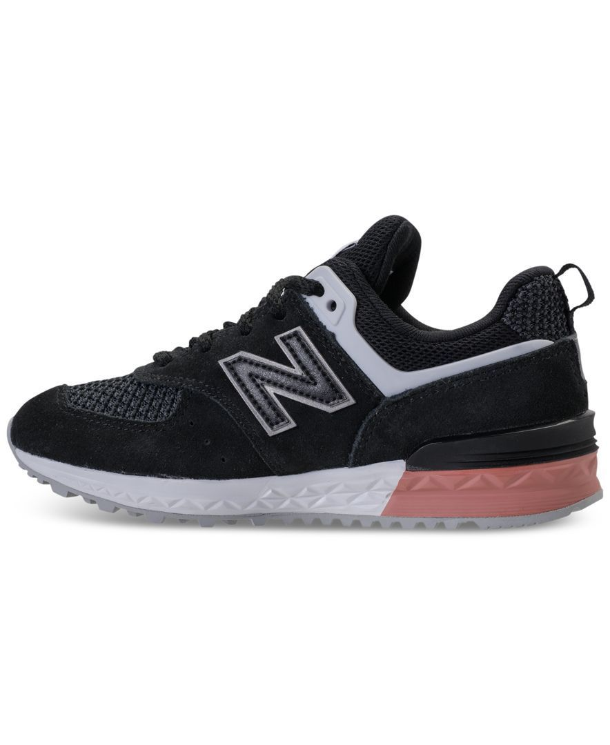 Cool and sporty, the New Balance Big Boys' 574 Sport Casual ...