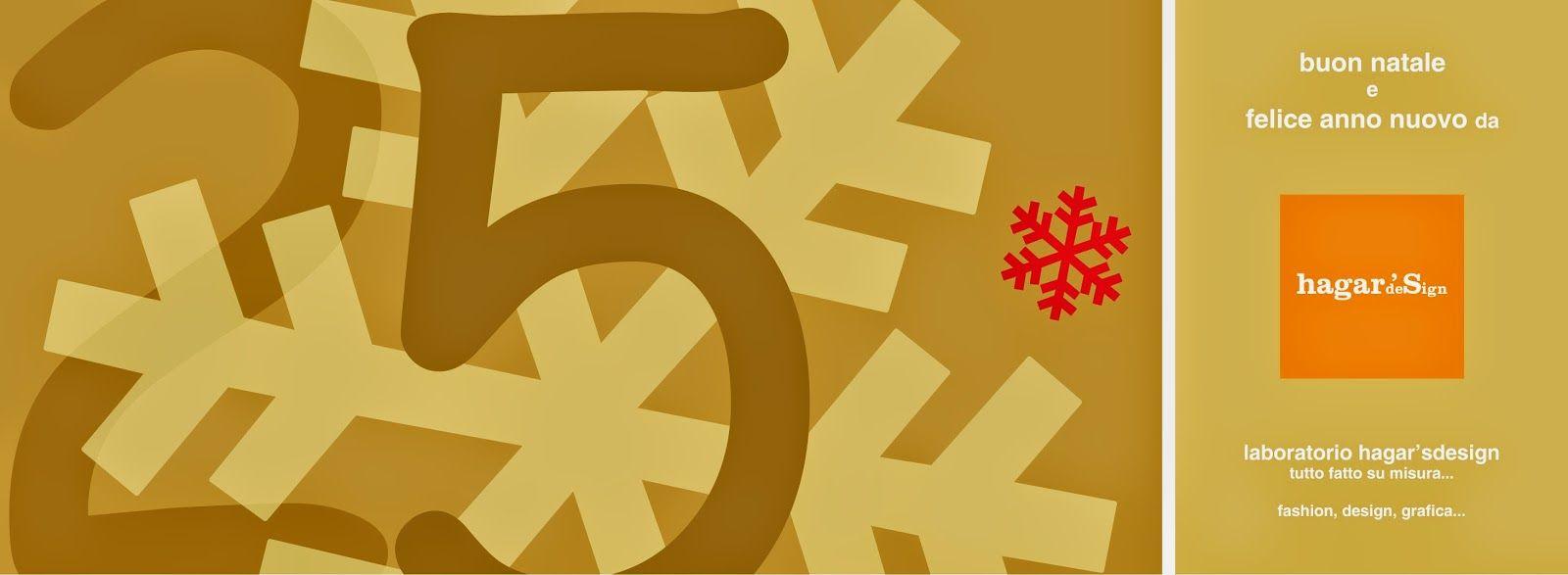 Buon Natale dal laboratorio hagar'sdesign