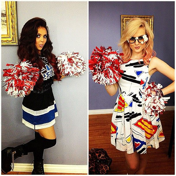 Jesy And Perrie As Cheerleaders Jessica Sotier Yeager Nelson