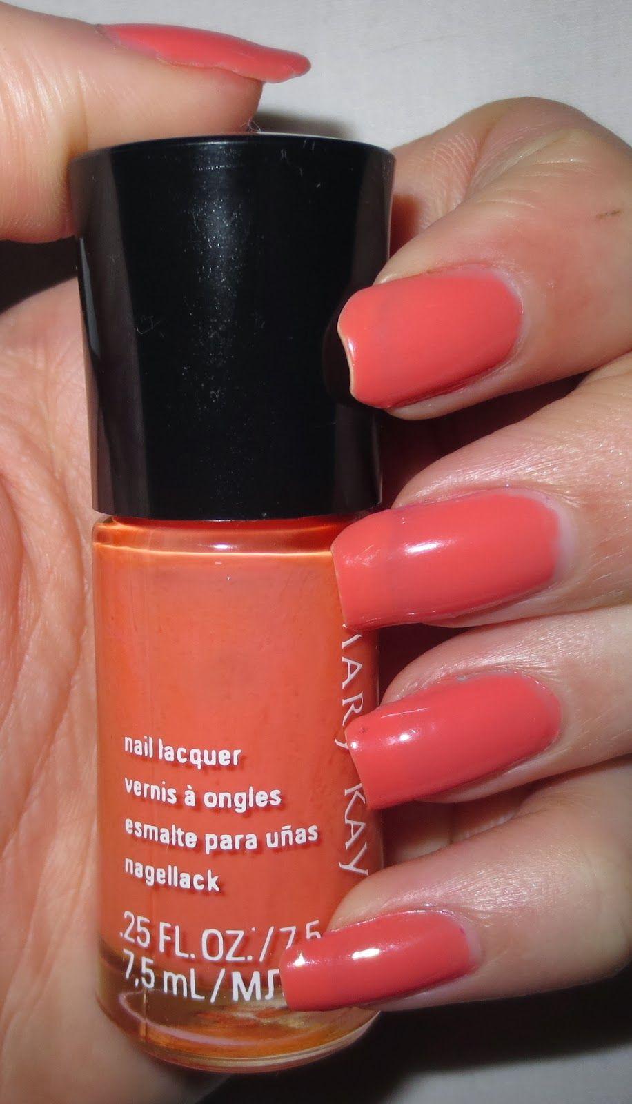 Mary Kay Nail Lacquer - Carefree Coral | Mary Kay Fav Nail Lacquers ...