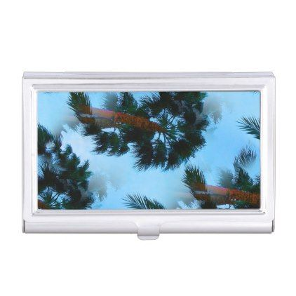 Palm trees business card case business card case palm trees business card case colourmoves