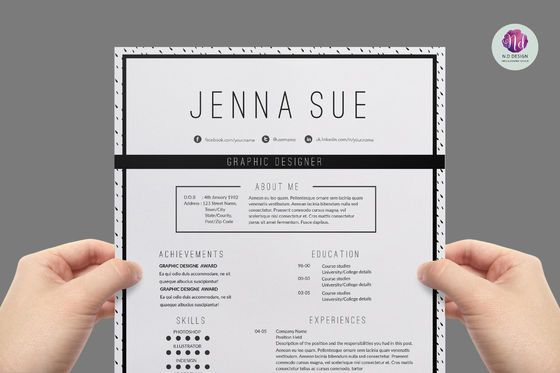 Jenna Sue Fashion resume - resumate