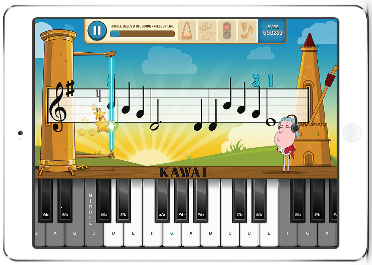 learn to play the piano with the piano maestro ipad app free to all new kawai owners learn. Black Bedroom Furniture Sets. Home Design Ideas