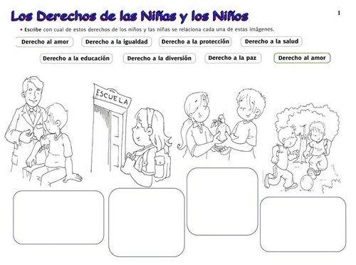 Laminas Sobre Los Derechos Del Nino Derechos De Los Ninos Obligaciones Del Nino Deberes De Los Ninos