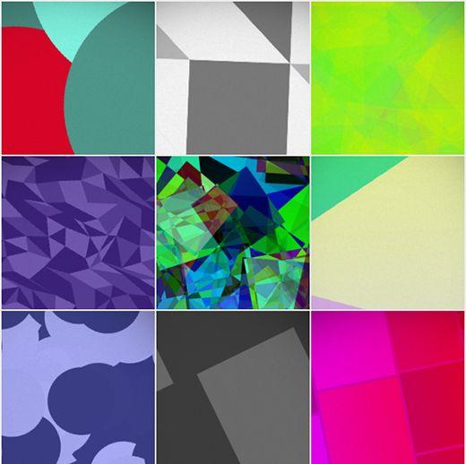 Deko App.Deko For Ios Generates Experimental Wallpaper On The Fly