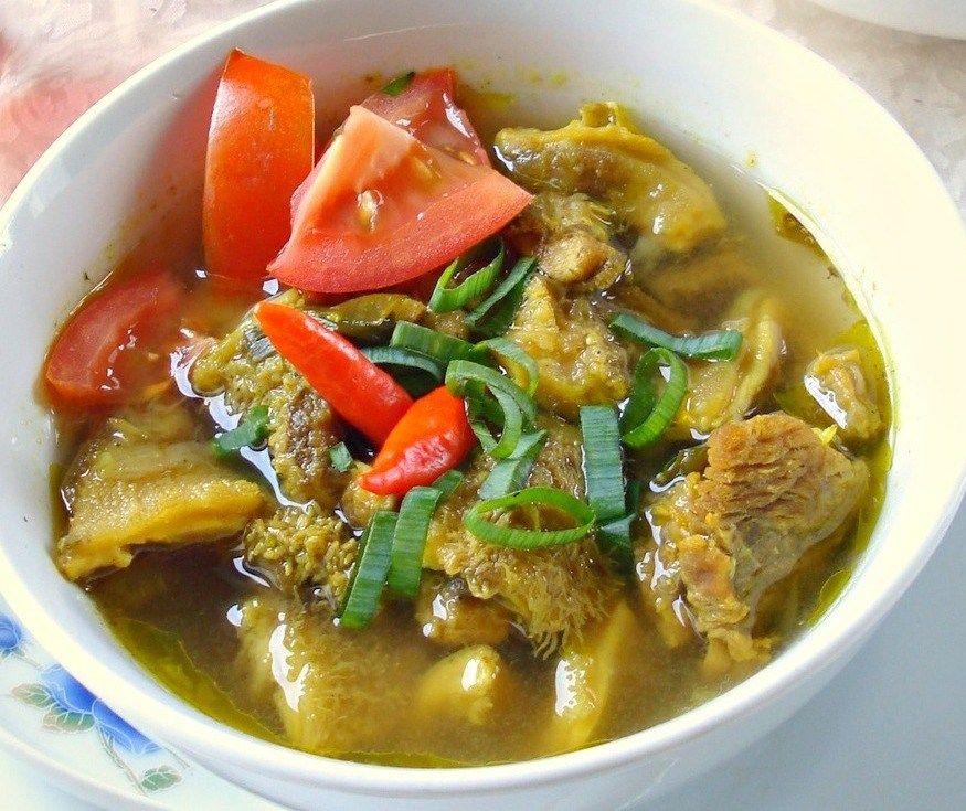 Resep Soto Babat Sapi Resep Makanan Sapi