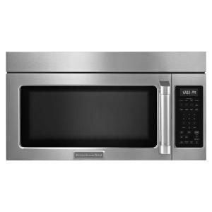 Kitchenaid Architect Series Ii 1 8 Cu Ft Over The Range Convection Microwave In All Pro Stainless Steel With Sensor Cooking Khmc1857bsp At Home