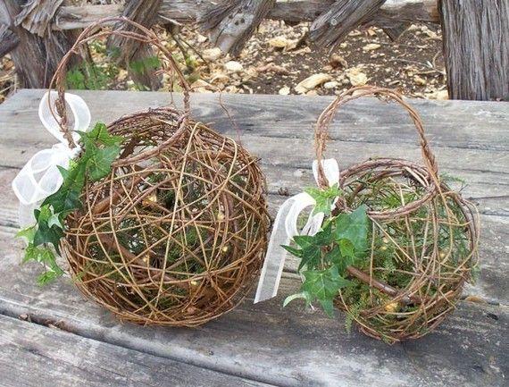 Flower Girl Pomander Basket NEED PICTURES TUTORIALS Wedding Il 570xN188328586