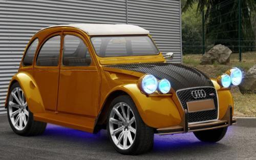 Renov2cv Com Restauration Citroen 2cv Custom Cars Motor Car Audi