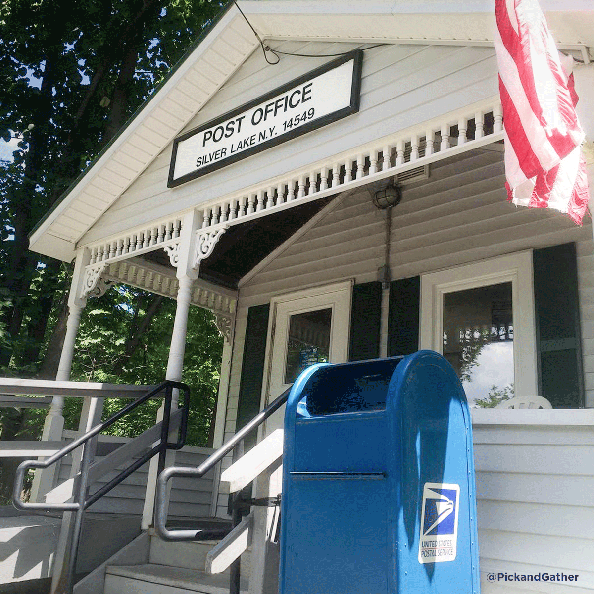It May Not Be Our Smallest Post Office But It S Certainly One Of The Cutest Outdoor Decor Post Office Places