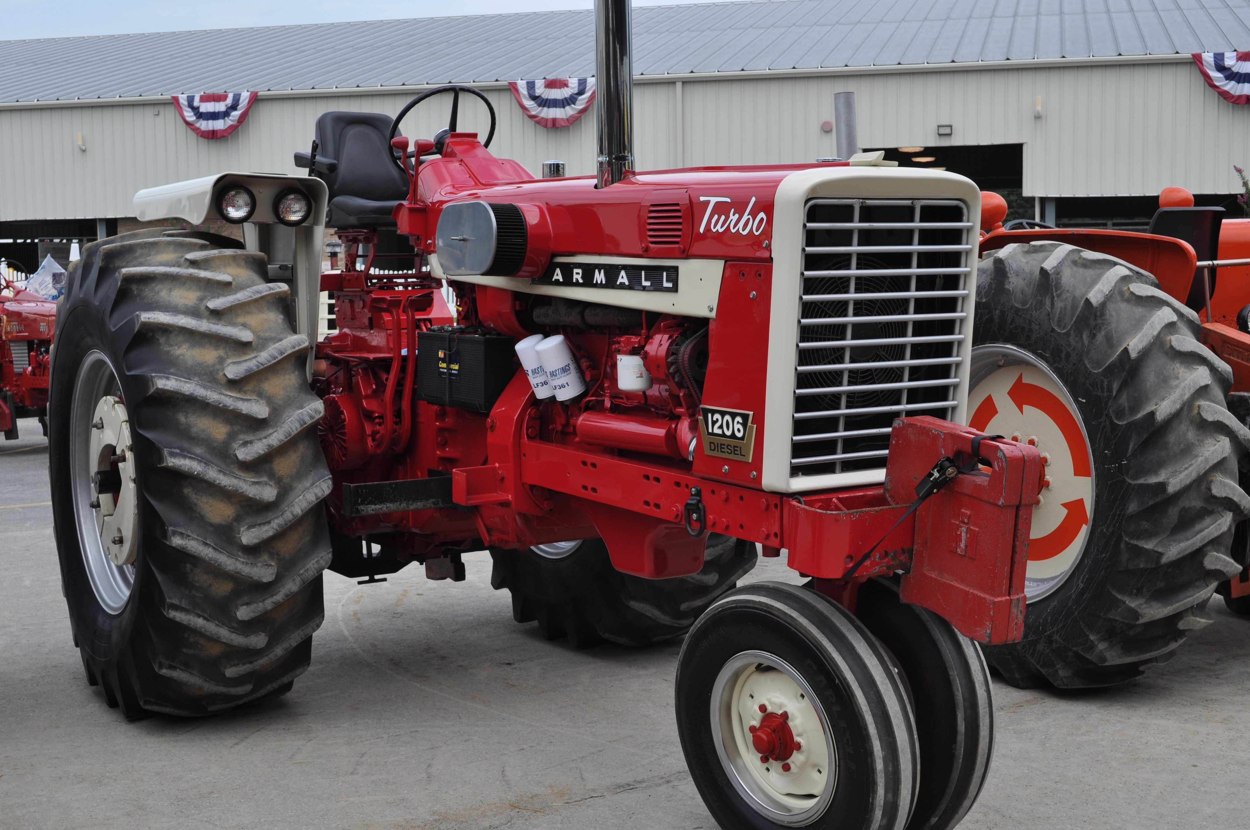 Ih Pulling Tractors : Antique tractor pull farmall tricycle international