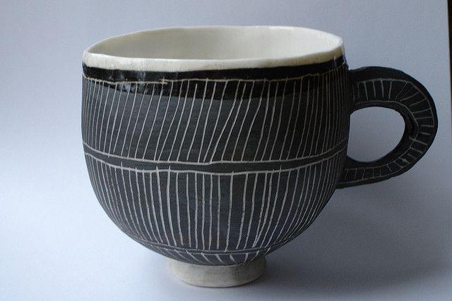 Striped cup   Flickr: Intercambio de fotos