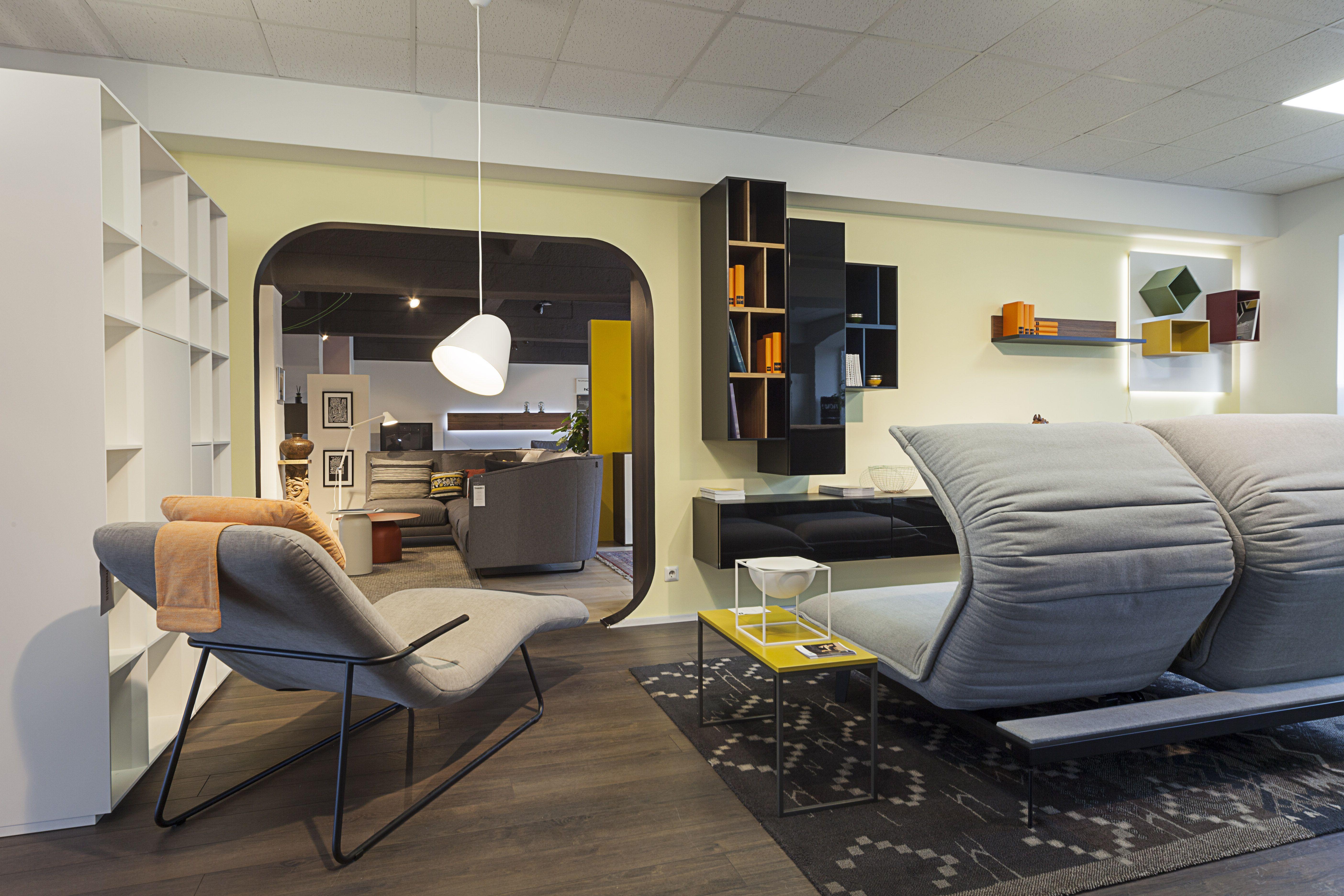 Rolf Benz Nova sofa, Freistil 163, Piure cabinets, Now! by Hülsta Vision cabinets
