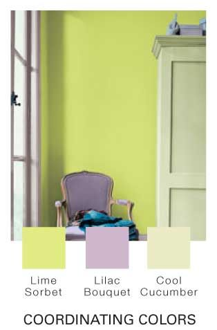 Glidden® Paint Mobile Site. Lime sorbet I want to take the color ...