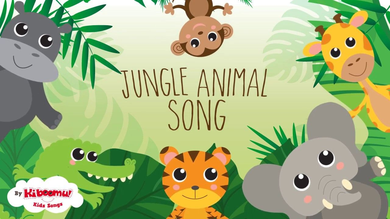 Jungle Animal song for kids! Great for Earth Day. kids