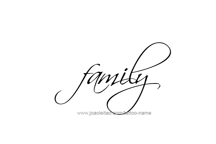 Family Name Tattoo Designs Tattoos With Names Family Tattoos Family Name Tattoos Family Tattoo Designs