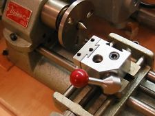BUILD YOUR OWN PLANS--QUICK CHANGE TOOL POST fits Unimat, Lathe, Taig, Sherline