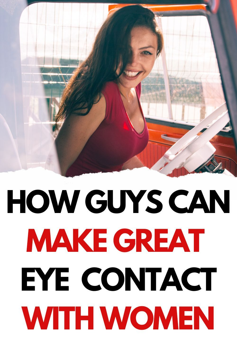 How to Make Seductive Eye Contact with An Older Woman