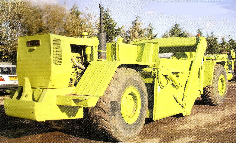 Classic Machines: The Terex TS-8 scraper   Scrapers   Heavy