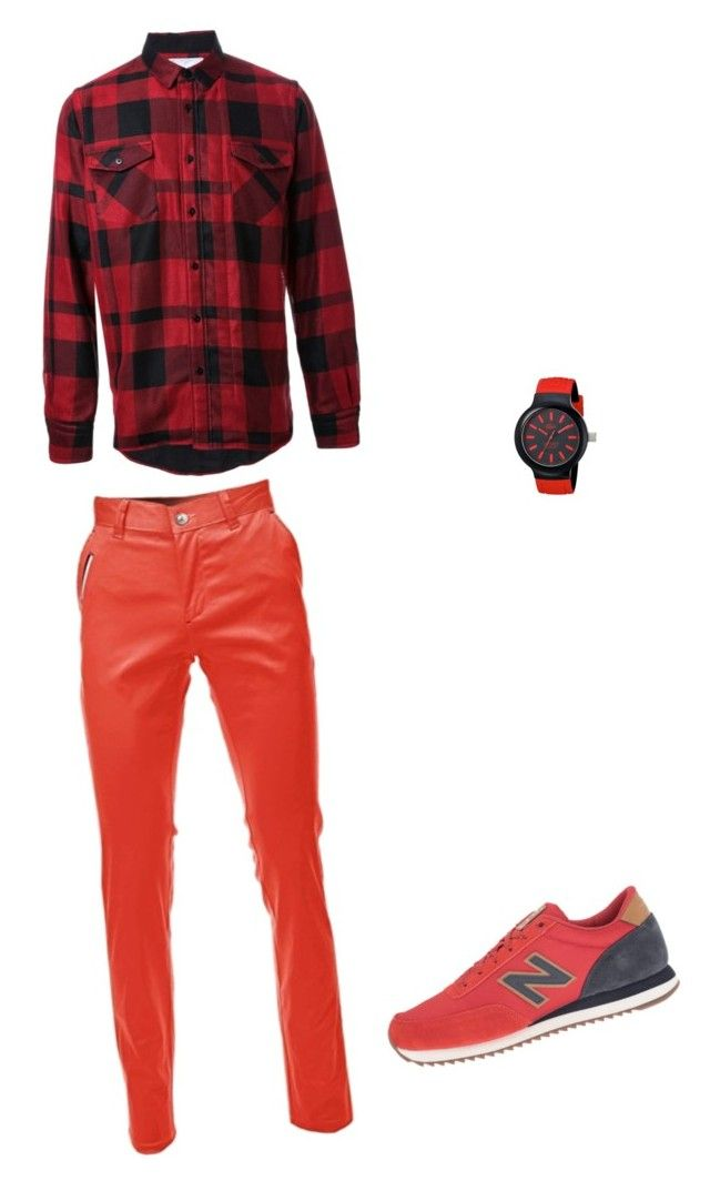 """dad"" by johnsonaubrey on Polyvore featuring Sacai, New Balance Classics, Lacoste, men's fashion and menswear"