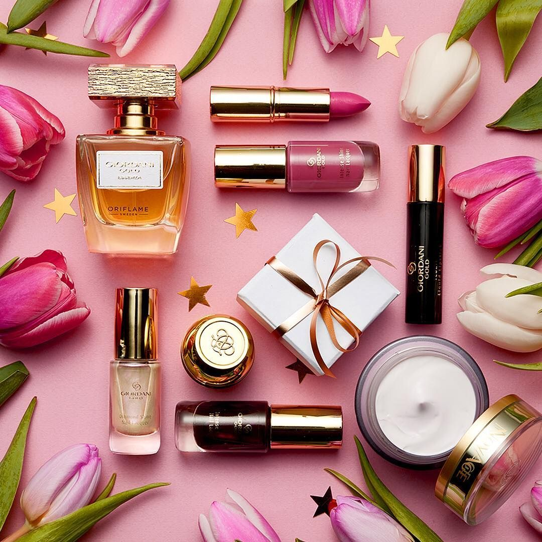 Which iconic Oriflame product has helped you reach your