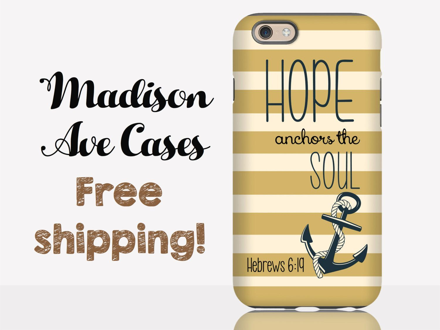 Hope Anchors The Soul Christian Hebrews 619 Custom Quote