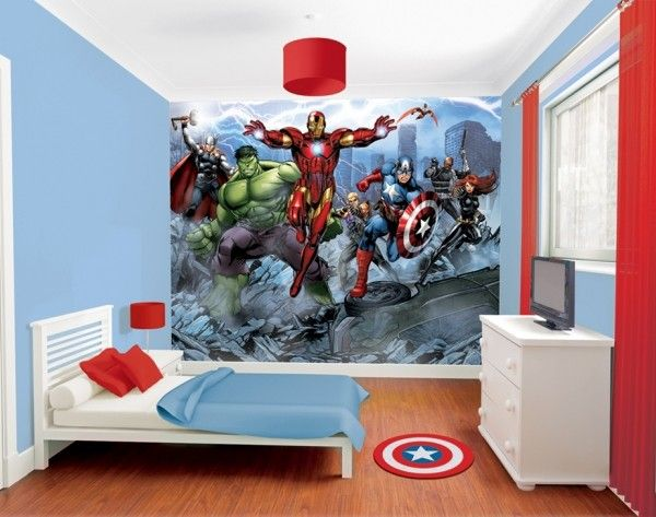 Avengers Boys Wallpaper murals httpwwwwallmuralsieshopboys