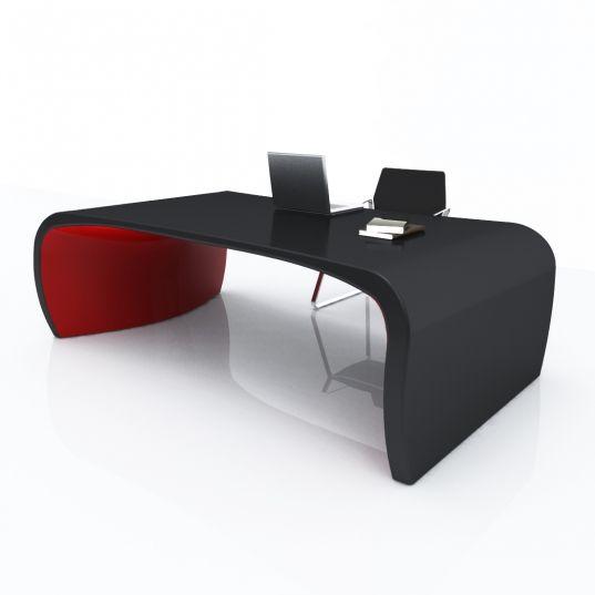 Tabledesk sonar i studio ferrante design for zad italy for Scrivanie ufficio economiche