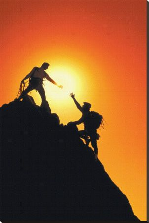 Mountain climbers reaching summit pinterest it takes a whole lot longer to climb to the top of a mountain than it does to roll back down to the bottom of it youre bound to slip and roll freerunsca Image collections