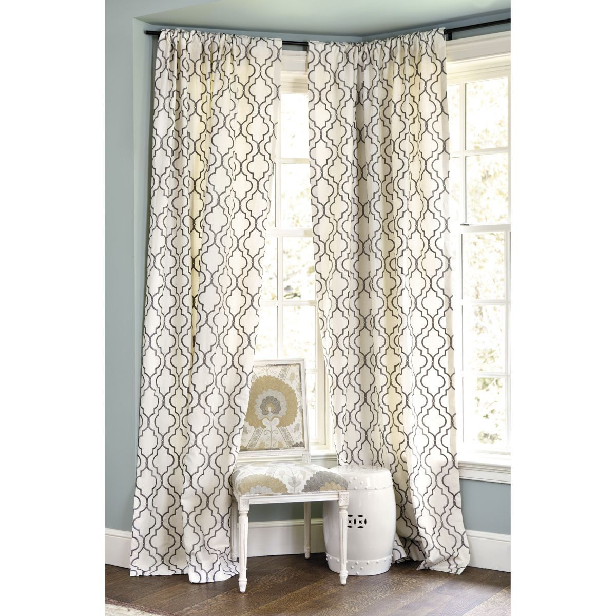 Firenze embroidered panel for dining room decor pinterest
