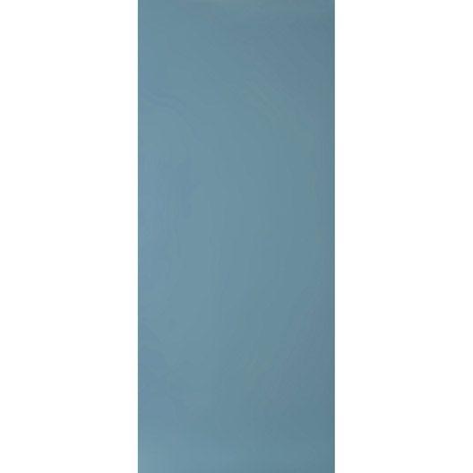 Carrelage mural Home en faïence, bleu atoll n°3, 25 x 60 cm salle