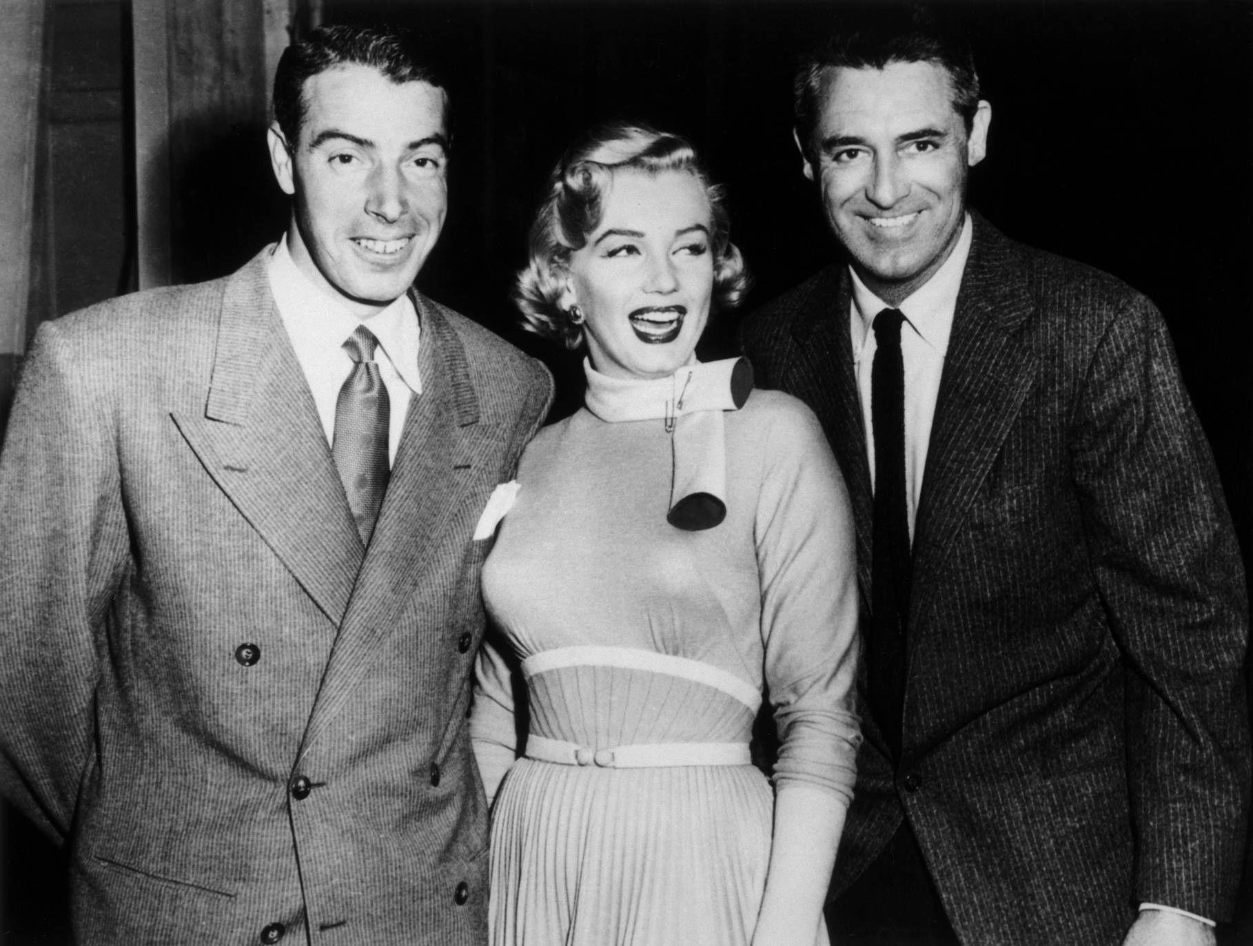 Marilyn Monroe Photo Marilyn Monroe Joe Dimaggio And Cary Grant Monkey Business Marilyn Monroe Photos Joe Dimaggio Marilyn Monroe Classic Hollywood
