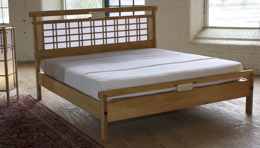 Asian Inspired Bed Bedroom Furnishings Asian Bed Frames Furniture
