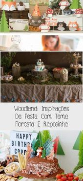Rustic and woodlands baby shower decoration ideas food ideas with forest animal #fashion #style #stylish #love #cute #photooftheday #nails #hair #beauty #beautiful #instagood #pretty #swag #pink #eyes