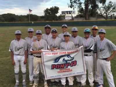 Pony All Stars Win Sectional Sport Management Pony Baseball Sports Organization