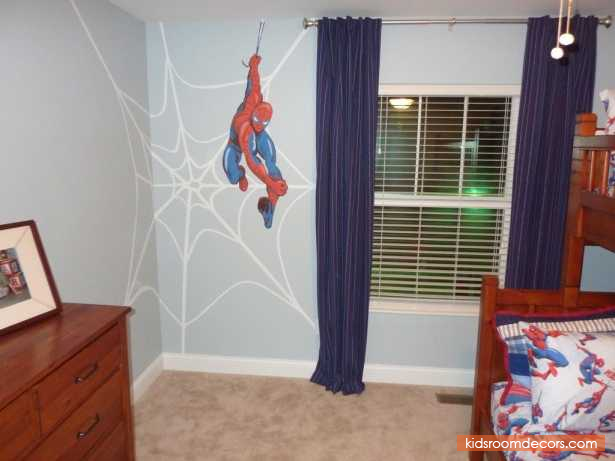 Great Boys Spiderman Bedroom Concepts  Httpwwwkidsroomdecors Beauteous Spiderman Bedroom Furniture Inspiration Design