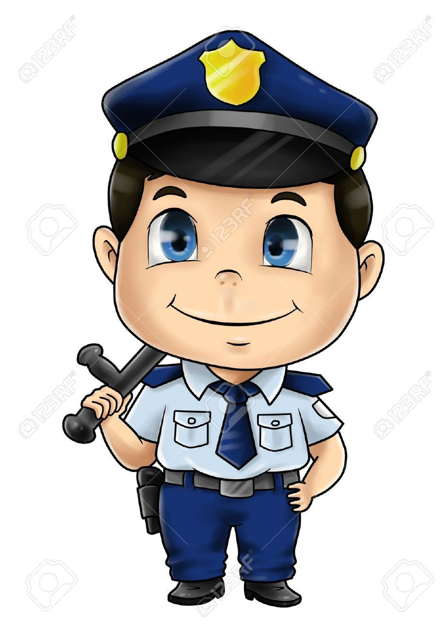 Resultado de imagen para dibujo de policia infantil | favoritos ...