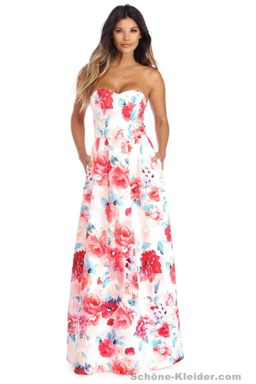 Schicke Kleider, Zwei Stück Abendkleider Lang  Schöne Kleider