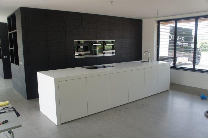 voorbeeld keuken stollenwand keuken pinterest keuken