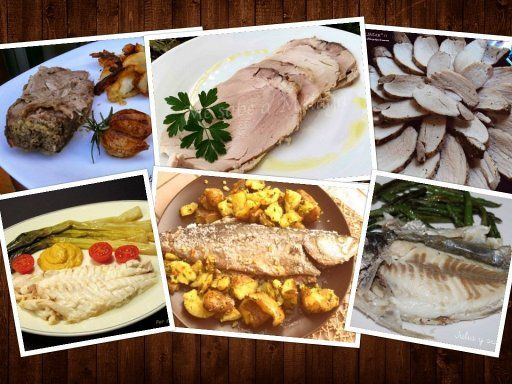Cocinar con sal, 6 platos riquísimos