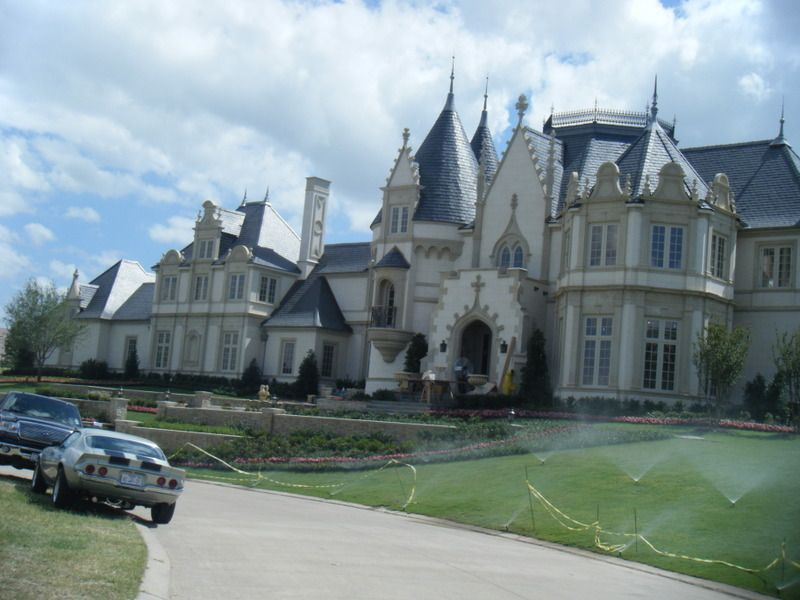 french chateau style mansion