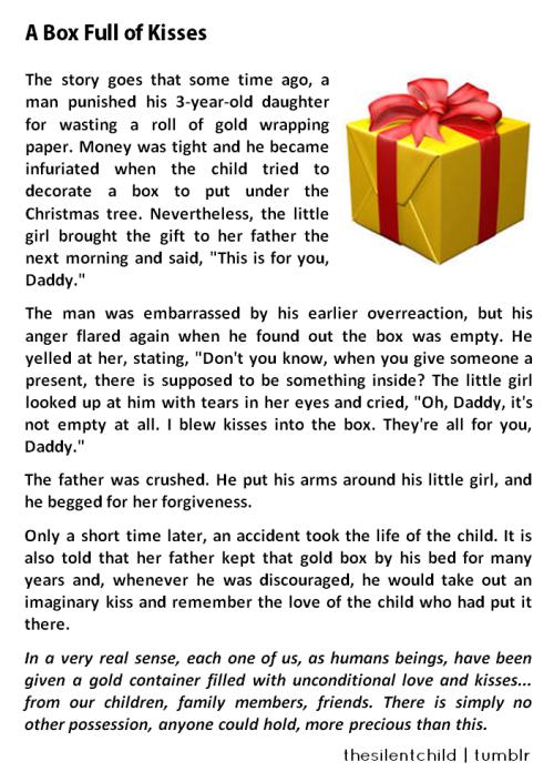 Christmas Short Stories.Short Story A Box Full Of Kisses Christmas Short